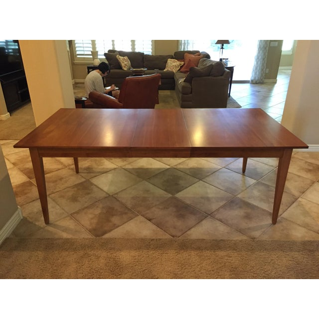 Ethan Allen New Impressions Dining Table With 2 Leaves For Sale - Image 11 of 11