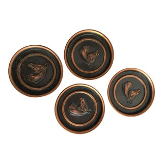 1960s Horse Coasters - Set of 4 For Sale