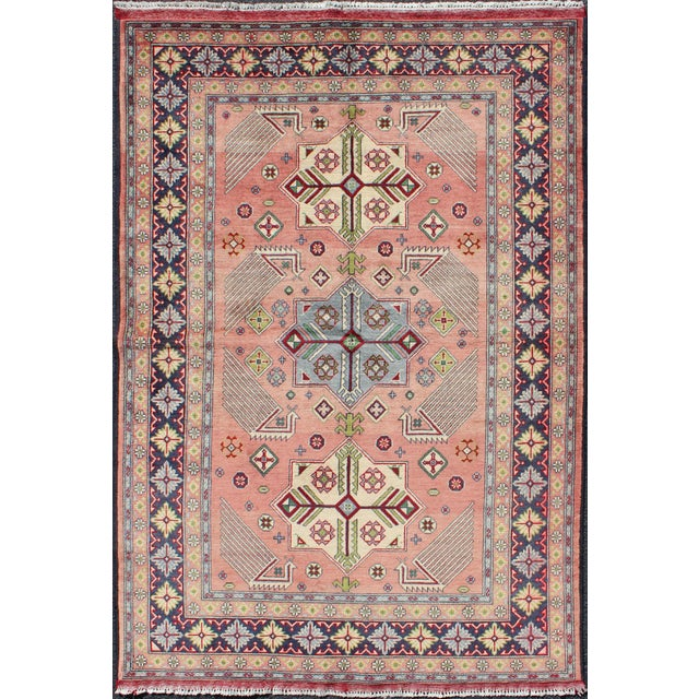 1950s Semi Antique Afshar Rug - 4′ × 6′ For Sale - Image 12 of 12