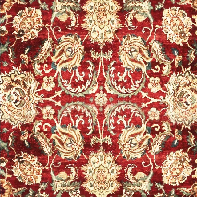 """Traditional Gallery Size Traditional Hand Woven Rug - 9'3"""" X 15'3"""" For Sale - Image 3 of 3"""