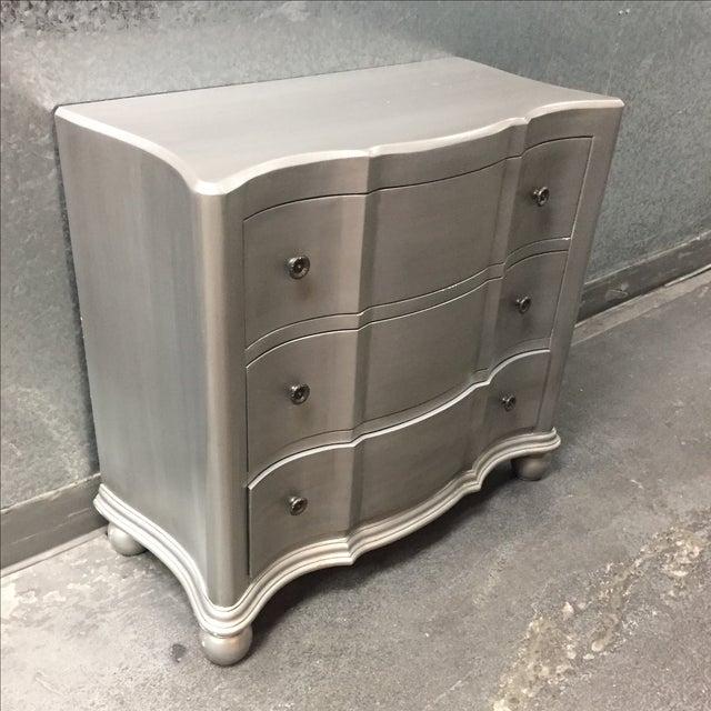 Jules 3-Drawer Silver-Finish Dresser - Image 3 of 8
