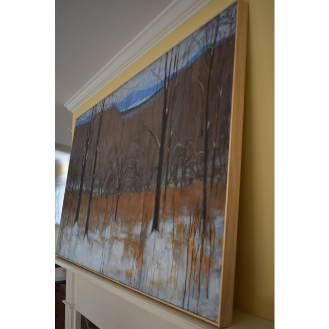 """Stephen Remick """"Heading Up the Hill, Looking Back"""" Large Contemporary Landscape Painting For Sale - Image 9 of 12"""