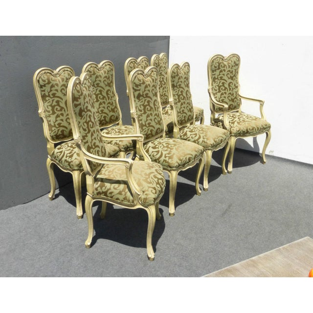 Karges Louis XV Style Dining Chairs - Set of 8 - Image 3 of 11