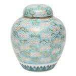 Hand Painted Gold Imari Vase Japanese Ginger Jar