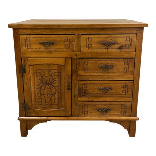 Early 20th Century Chinese 5 Drawers Nam Mao Dresser For Sale