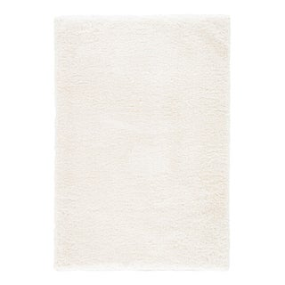 Jaipur Living Katya Solid White Area Rug - 4′ × 6′ For Sale