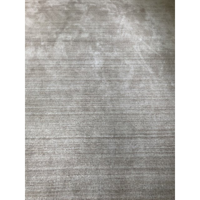 Serena & Lily Serena & Lily Handknotted Champagne Area Rug For Sale - Image 4 of 7
