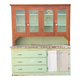 Antique Farmhouse Hutch For Sale