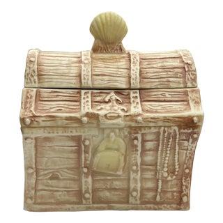 McCoy Treasure Chest Cookie Jar For Sale