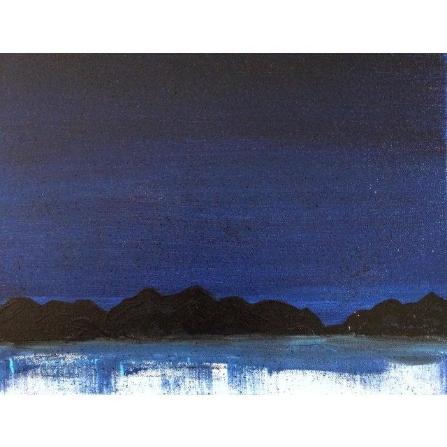 "Linnea Heide ""Midnight Range"" Original Painting - Image 3 of 6"