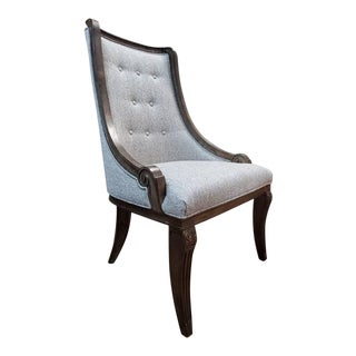 Thomasville Furniture Casa Veneto Tuscan Stella Upholstered Side Chair For Sale