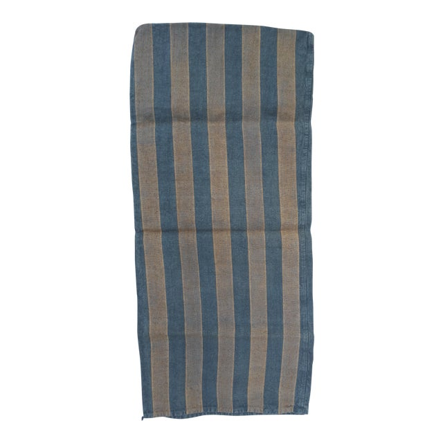French Blue & Gray Grain Sack - Image 1 of 4