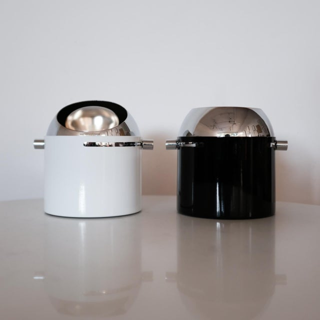 Mid-Century Modern Pair of Bill Curry Design Line Spot Lamps For Sale - Image 3 of 9