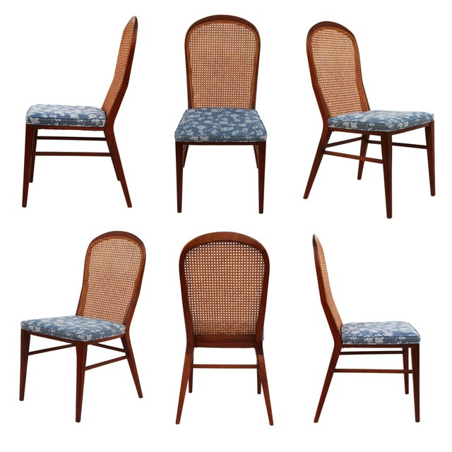 Paul McCobb Solid Walnut Dining Chairs - Set of 6 - Image 1 of 7