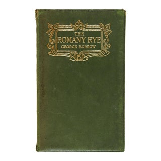 """Romany Rye"" Antique Book by George Borrow For Sale"