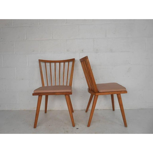 Conant Ball Leslie Diamond for Conant-Ball Mid-Century Chairs - Set of 4 For Sale - Image 4 of 11