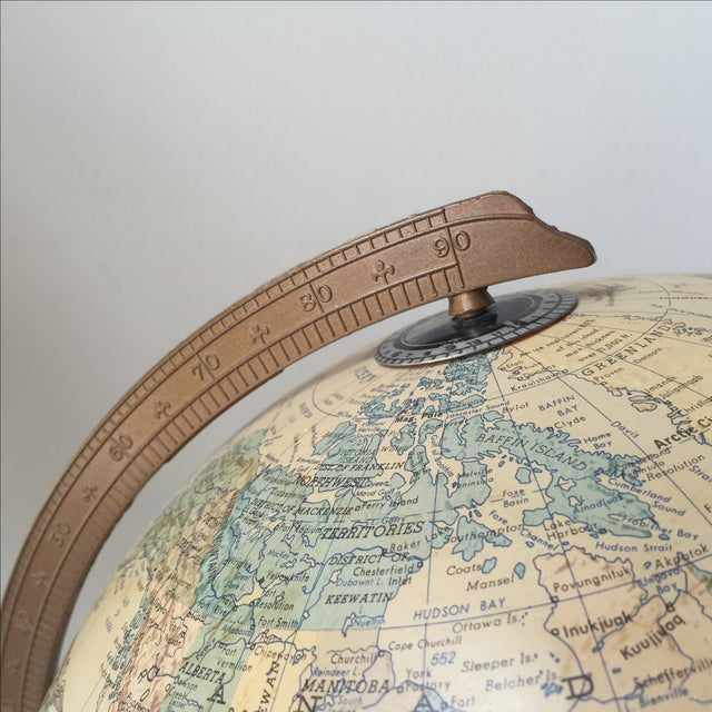 1970 Topographical Light Up Globe - Image 4 of 5
