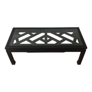 Jonathan Adler Chinese Chippendale Coffee Table