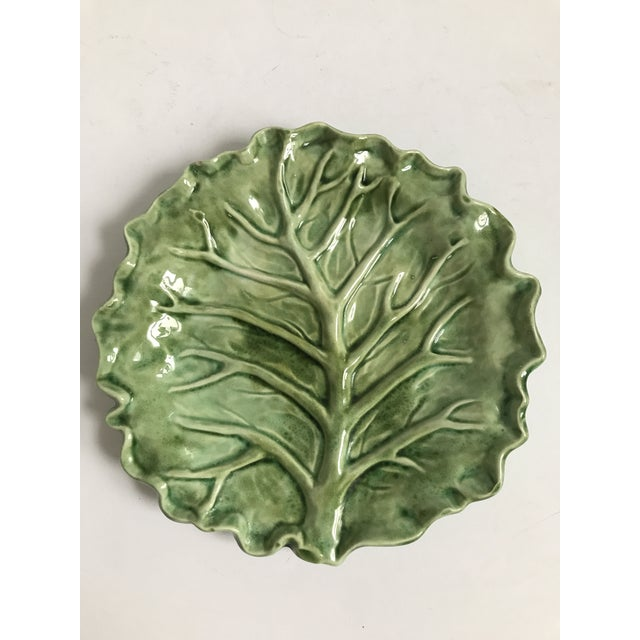 Cabbage Leaf Serving Plate - Image 8 of 8