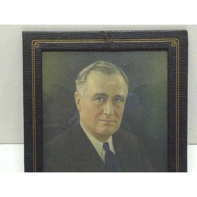 Vintage Photograph President Franklin D. Roosevelt, 1930 - Image 2 of 5