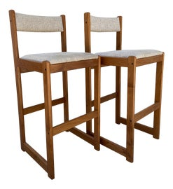 Image of Teak Bar Stools