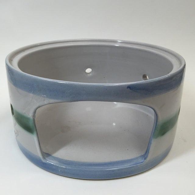 Vintage Pottery Beverage Dispenser - Image 4 of 8