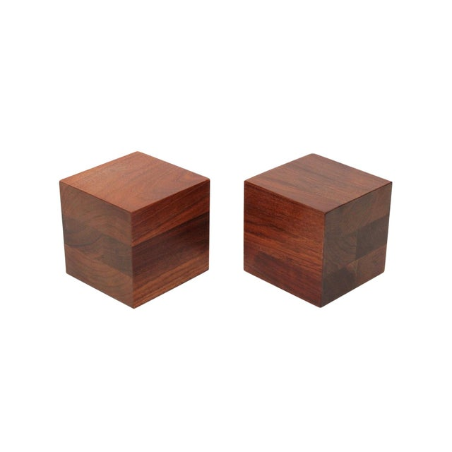 Walnut Martz Bookends For Sale - Image 11 of 11