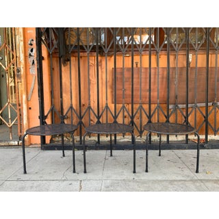 Vintage Gothic Wrought Iron Side Tables - SEt of 3 Preview