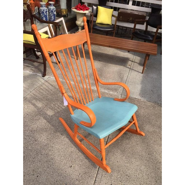 Restored Shabby Chic Style Rocking Chair - Image 4 of 4