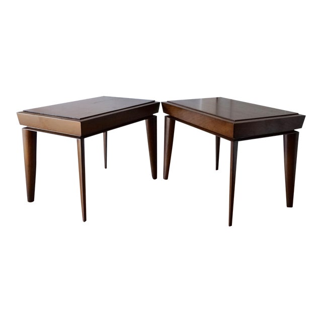 Mid-Century Designer Paul Lazlo End Tables - Pair - Image 1 of 7