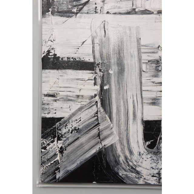 Renato Freitas Original Oil on Canvas, 2015, Black and White Two For Sale In Miami - Image 6 of 6