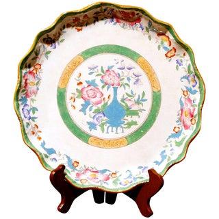 Late 19th Century Antique Cauldon Porcelain Platter For Sale