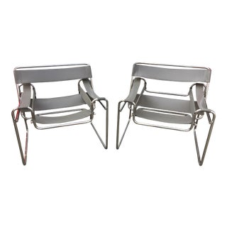 Vintage Marcel Breuer Wassily Chairs - A Pair For Sale