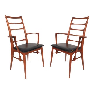Pair of Mid-Century Modern Danish Armchairs by Koefoeds Hornslet