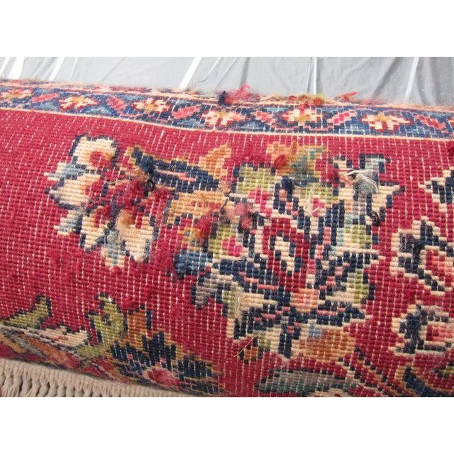 Karastan Red Sarouk Pattern - 8′9″ × 12′ - Image 8 of 8