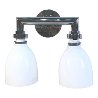 Visual Comfort Chapman & Myers Wilton Double Bath Light For Sale