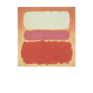 Mark Rothko, White Cloud Over Purple, Edition: 5000, Offset Lithograph, 1995 For Sale