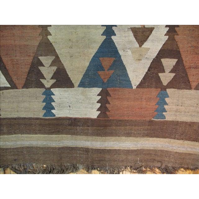 Vintage American Navajo Rug - 5′2″ × 9′5″ - Image 6 of 6