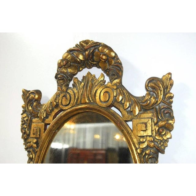French Louis XVI Neoclassical Style Giltwood Mirror - Image 3 of 7