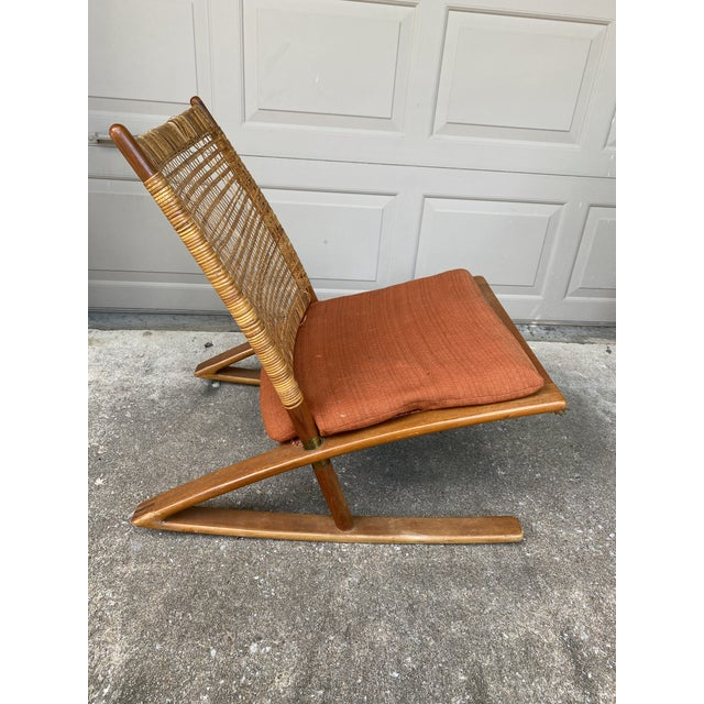 1950s Fredrik Kayser Rocking Chair For Sale In Tulsa - Image 6 of 6