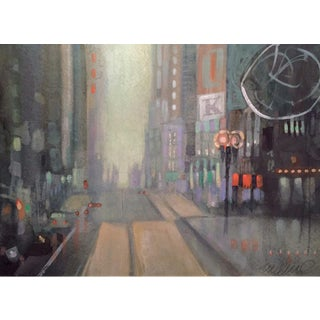 """Shopping"" Original Watercolor Painting"