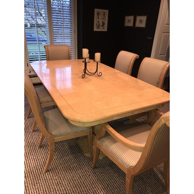Henredon Charles X Dining Room Table and Chairs