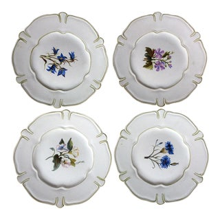 Marcel Guillot French Art Pottery Plates - Set of 4