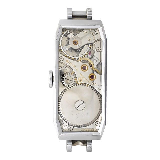Bulova Watch Co. Presentation Model Timepiece For Sale - Image 4 of 7
