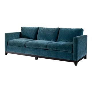 Rome Peacock Gunter Sofa For Sale