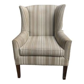 Ralph Lauren Wingback Chair For Sale