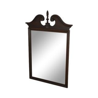 Ethan Allen Georgian Court Cherry Arch Top Mirror For Sale