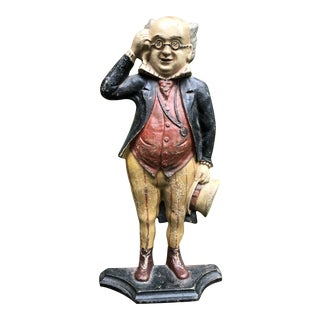 Mr. Pickwick Cast Iron Doorstop For Sale