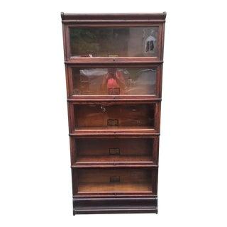 Vintage Globe Wernicke Barrister Bookcase