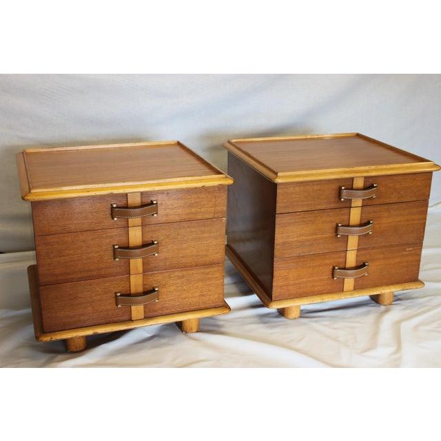 "Rare Paul T. Frankl designed ""StationWagon"" series bedroom set for Johnson Furniture Co., of Grand Rapids, MI, circa..."